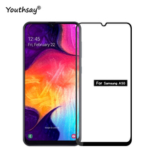 1PCS For Samsung Galaxy A50 Glass Tempered 5D Curved Full Cover Screen Protector Film