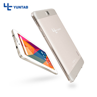 YUNTAB 7inch E706 Gold Alloy Tablet PC Quad Core 1024x600 Resolution Android 5 1 Dual Camera