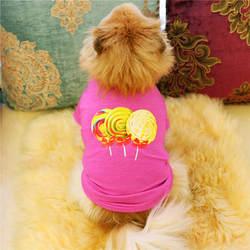 MUQGEW дешевые Костюмы питомец щенок летняя леденец рубашка жилет собака одежда для маленьких собак жилет рубашка roupas para cachorro