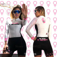 2018 Women skinsuit cycling jersey ciclismo clothing go pro mtb jersey mujer white jersey pro cycle clothing jersey цена