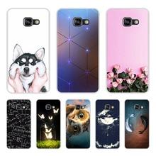 sFOR Samsung Galaxy A3 2016 Case Silicone SM-A310F Phone FOR Coque Samsung A3 2016 Cover FOR Funda Samsung A3 2016 Case цена