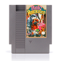 Panic Restaurant 72pins 8bit Game Card Drop Shipping