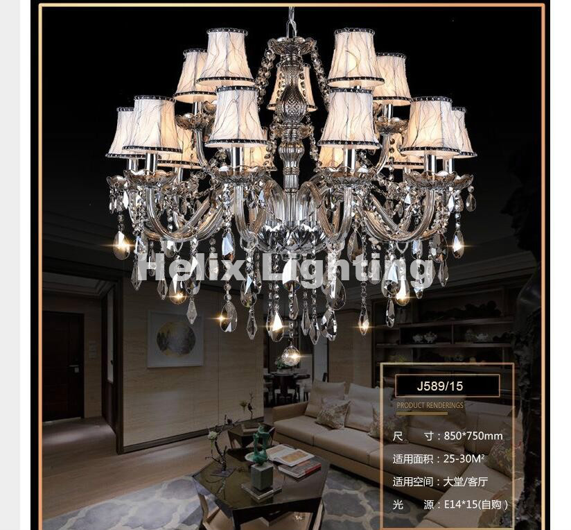 hot selling smoked k9 crystal chandelier lustre crystal chandeliers lustres de cristal chandelier e14 led ac lampshades included Hot Selling Smoked K9 Crystal Chandelier Lustre Crystal Chandeliers Lustres De Cristal Chandelier E14 LED AC Lampshades Included