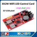 Kaler wi-fi из светодиодов дисплей контроллера карты 32 x 1536 пикселей бегущий текст из светодиодов видеокарта XK2W на борту wi-fi сигнала нет необходимости провода