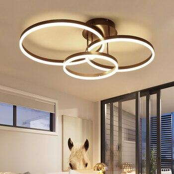 LED Ceiling Light Acrylic Aluminum Modern Led ceiling lights for living room bedroom AC85-265V White Ceiling Lamp luminarias