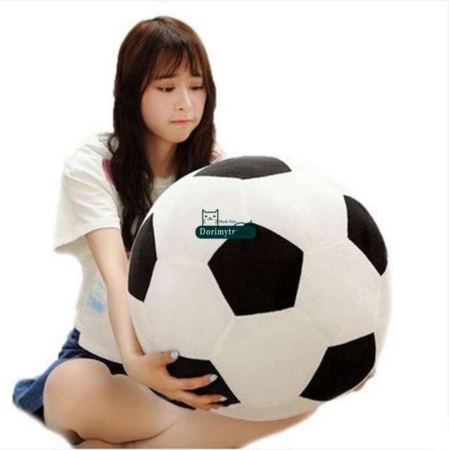 Dorimytrader 45cm Giant Soft Plush Simulation Basketball Toy Stuffed Round  Ball Pillow Cushion Kids School Props Gift DY60427 78125b2e87