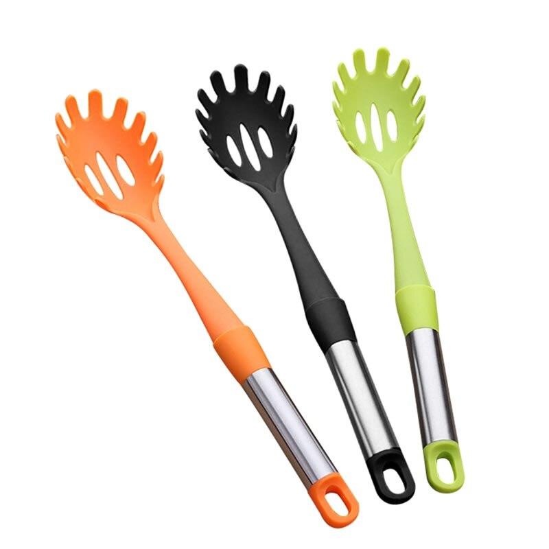 Silicone Pasta Utensil Server Spaghetti Noodles Serving Spoon Kitchen Tools