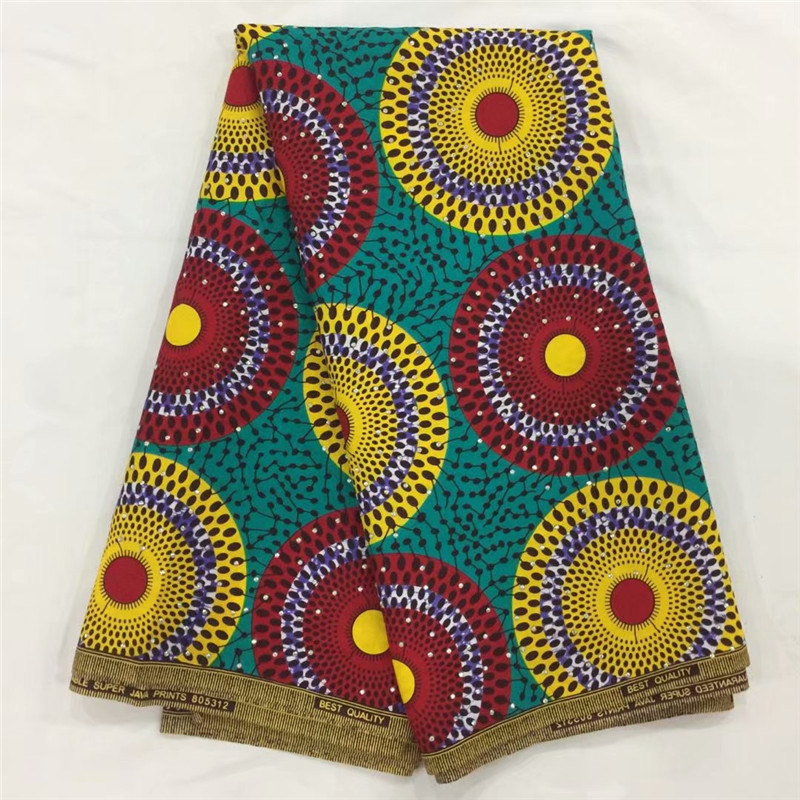 Stone wax  Ankara fabric high quality African print fabric African Hollandais 6 yards per lot cotton cloth material !XM022822Stone wax  Ankara fabric high quality African print fabric African Hollandais 6 yards per lot cotton cloth material !XM022822