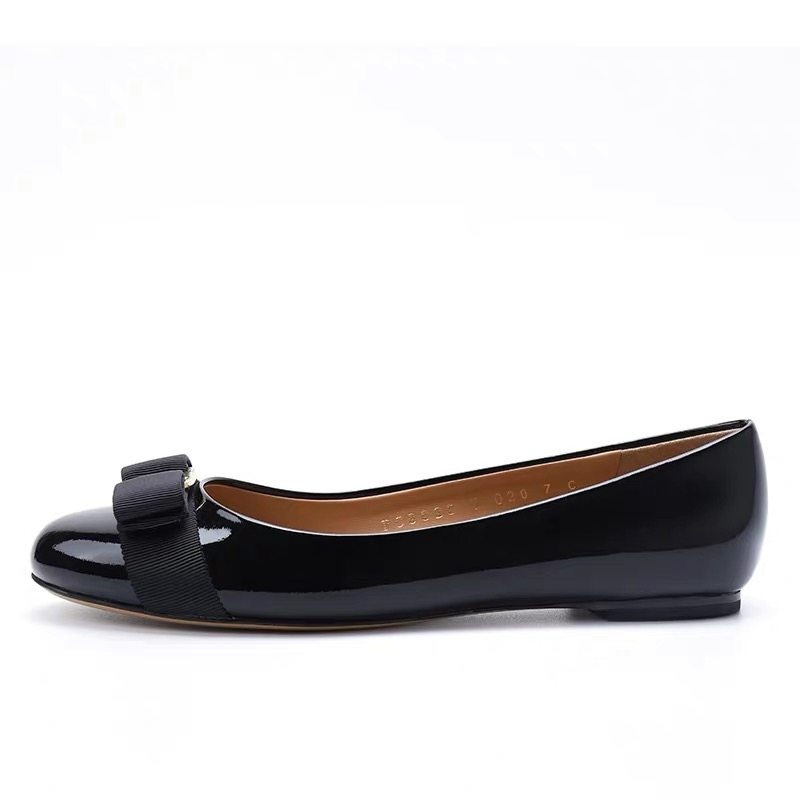 Spring Flats Women s Shoes Bowtie Loafers Genuine Leather Elegant Slip on Female Pointed Toe Suede