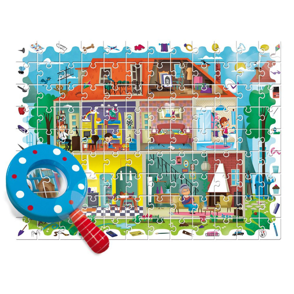 Puzzles LUDATTICA 58259 play children educational busy board toys for boys girls lace maze ludattica паззл с 3d фигурами ралли гран при