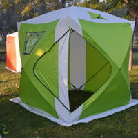 COOLWALK Automatic Pop Up Shower Bath Room Tent Outdoor Folding Toilet Winter Fishing Tent Portable Fish House Tent Shelter