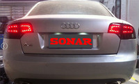 VLAND Factory for Car Tail light for Audi A4 LED Taillight 2005 2006 2007 2008 for Audi A4 Tail lamp with DRL+Reverse+Brake