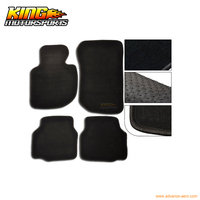 Fits 92 98 BMW E36 3 Series Floor Mats Carpet Front & Rear Nylon Black 4PC USA Domestic Free Shipping