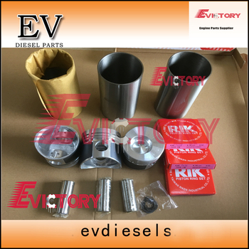 For Mitsubishi K3E engine rebuild kit K3E piston + piston ring crankshaft & con rod bearing ompelete gasket kit