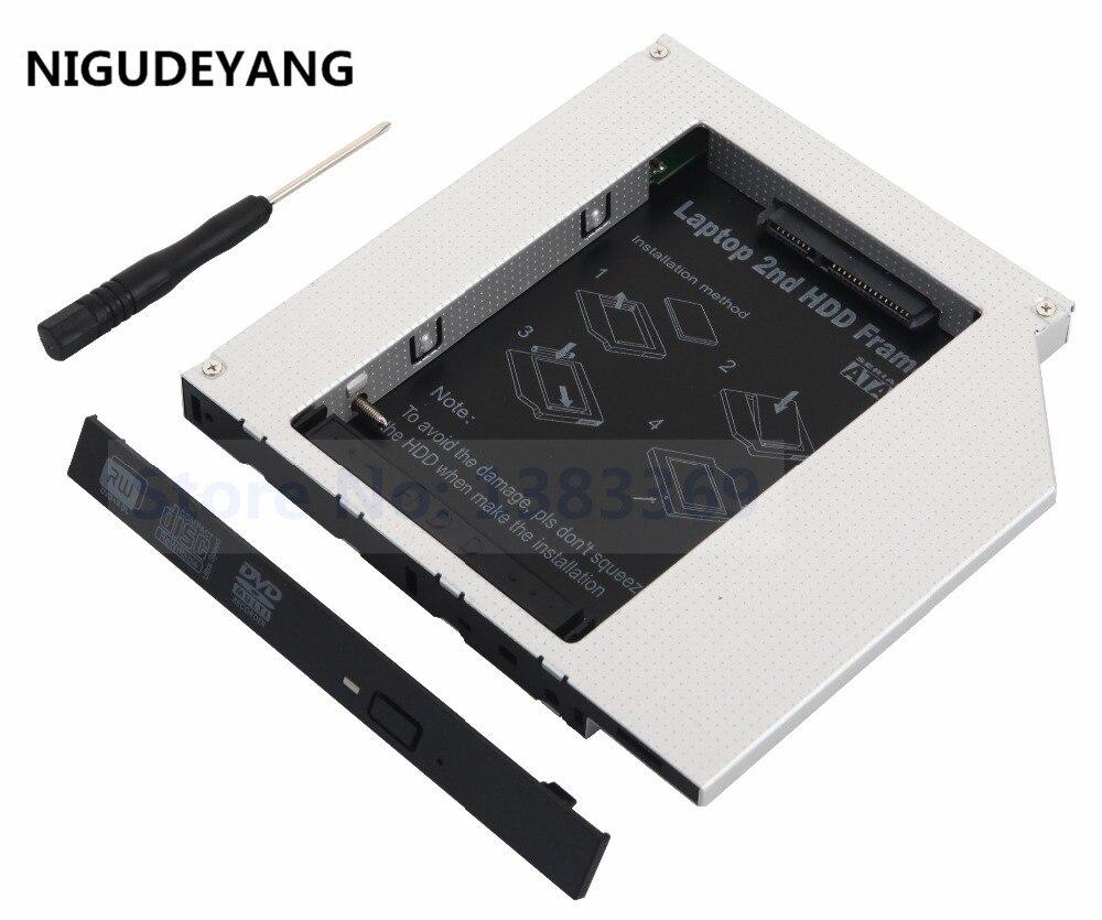 NIGUDEYANG 2nd HDD жесткий диск PATA IDE Caddy, замена Panasonic UJDA760 UJDA770 UJDA780 DVD