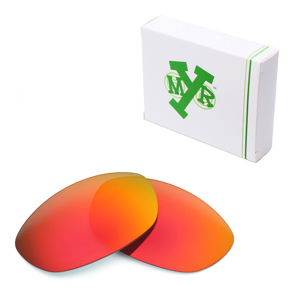 5a919388de9 Mryok POLARIZED Replacement Lenses for Oakley Fives 2.0 Sunglasses Fire Red
