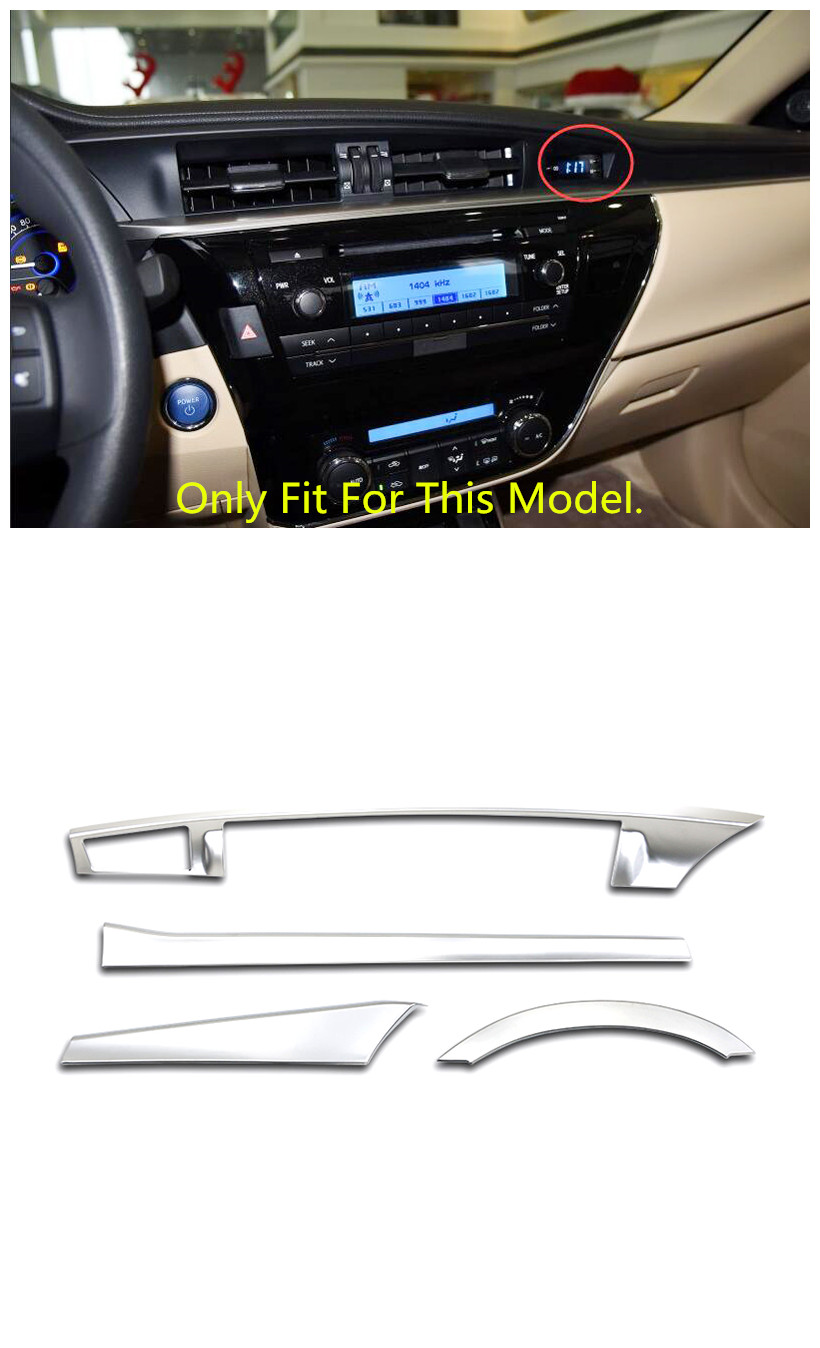 only fits for european model left hand drive interior dashboard middle console gear cover