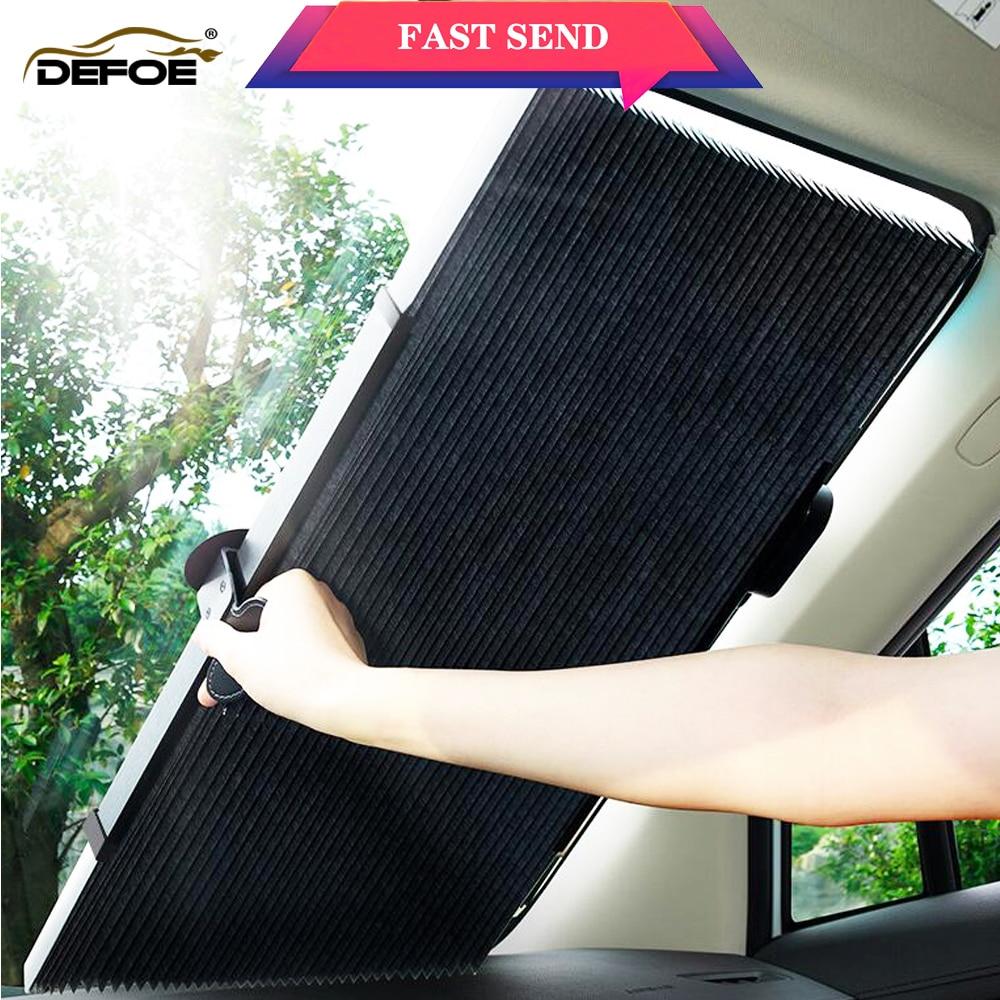 Auto Sunshade Automatic Car Sun Shade Car Curtain Auto Sunshade Car Shade Sun Protection Private Car SUV Truck Size 60,70cm