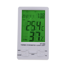 Buy online Digital LCD Thermometer Hygrometer Temperature Humidity Meter Indoor/ Outdoor Temperature Instrument Diagnostic-tool