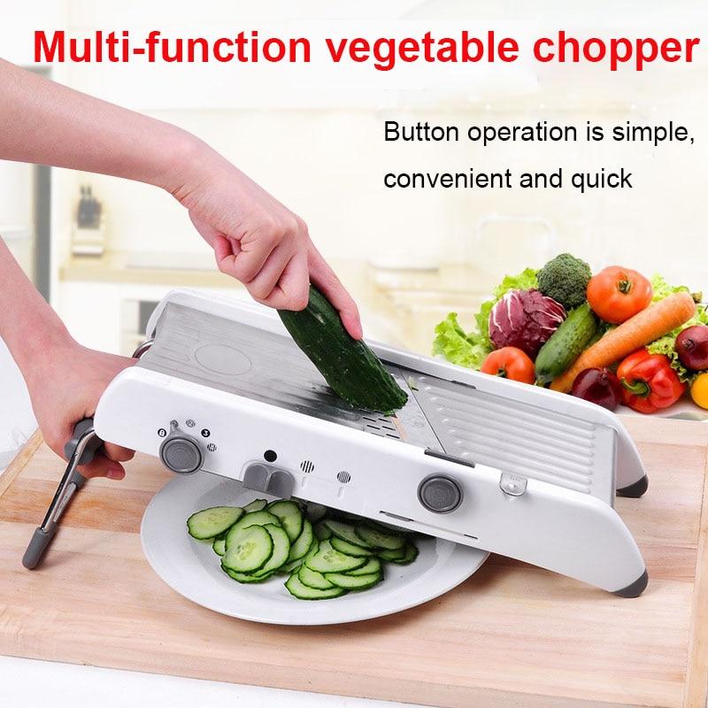 Multifunctional adjustable slicer 3