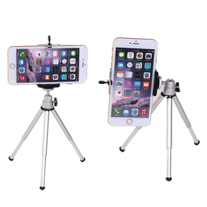 Image 2 - COOLJIER mini tripod for phone Bluetooth Remote Tripod Portable Monopod Extendable Mini Camera Stand Universal Phone Tripods