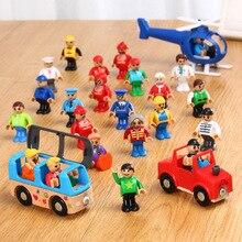 Все виды маленьких мужчин кукла модель персонажа железная дорога аксессуары Развивающие DIY оригинальные игрушки подарки детям подходит Томас треки EDWONE