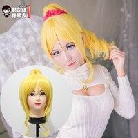 HSIU LoveLive! Love Live Cosplay Perruque Eli Ayase Costume Jouer Adulte Perruques Halloween Anime Cheveux livraison gratuite