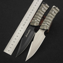CS COLD Quality Utility Combat Tactical Knife Camping Survival knife hunting knife with Nylon Sheath Fixed Blade CS GO Knife