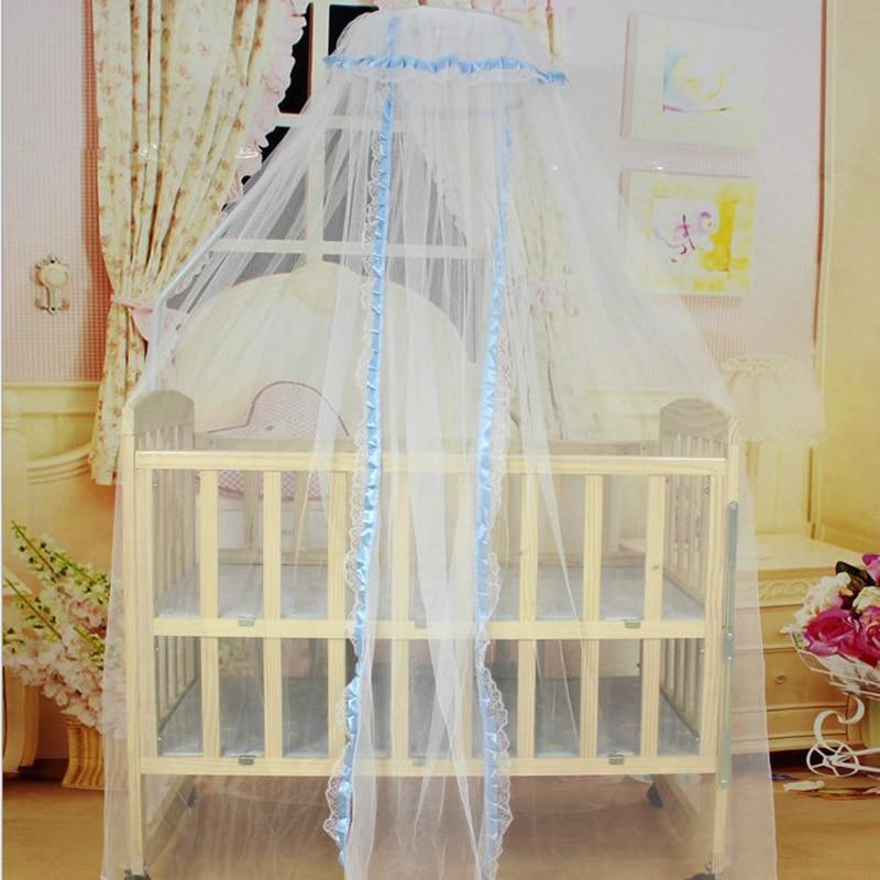 Baby Crib Netting Toddler Baby Bed Curtain Crib Bedding Set Nursery Decor Mosquito Net Newborn Photography Props Room Decor