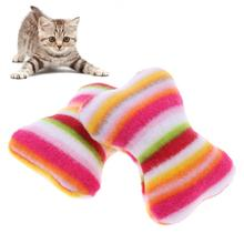 6Pcs/Set Cat Mint Toys Plush Mini Pillow Sound Interactive Toys for Cat Kitten Puppy Funny Playing Toy Pet Supplies