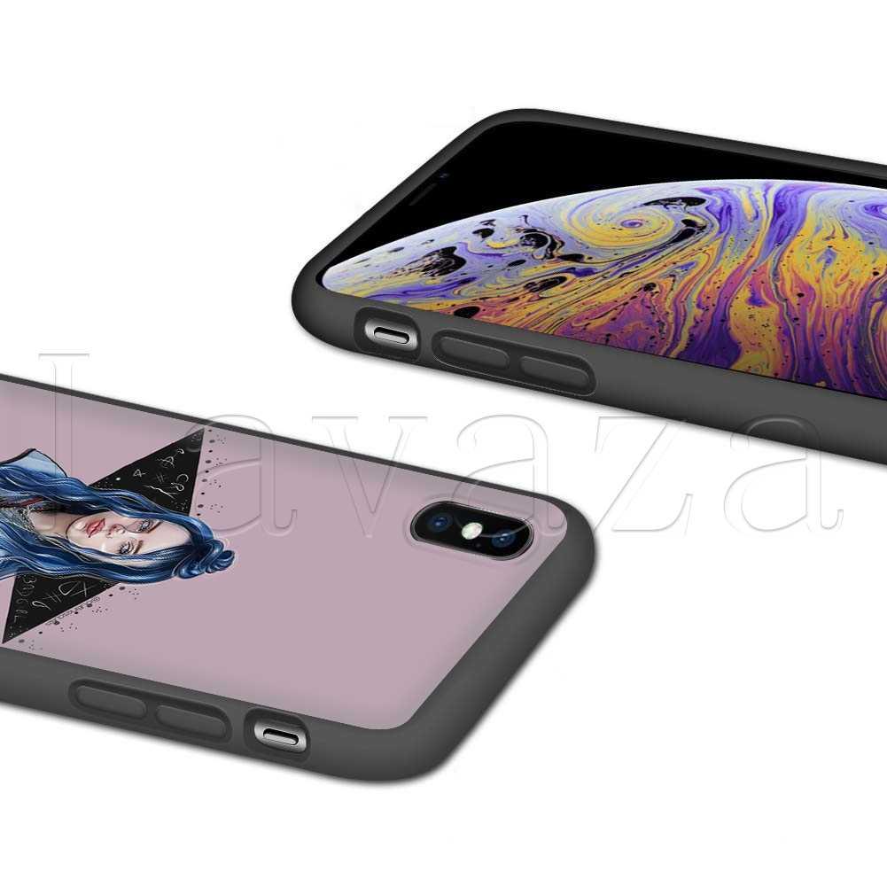 Lavaza Billie eilish rainbow blohsh глаза океана силиконовый мягкий чехол для iPhone 11 Pro XS Max XR X 8 7 6 6S Plus 5 5S SE