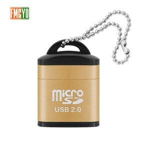 Image 3 - Mini Micro carte SD téléphone portable haute vitesse TF lecteur de carte mémoire ordinateur voiture haut parleur lecteur de carte