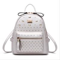 1 Pc Women Fashion Shopping Bag New Leisure Lady Travel Backpack Fashion Leather Bag New Women