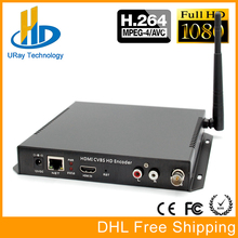 MPEG4 H264 HDMI + AV CVBS RCA Wifi IPTV Codificador Codificador De Vídeo HDMI + CVBS Codificador H.264 Wireless Streamer