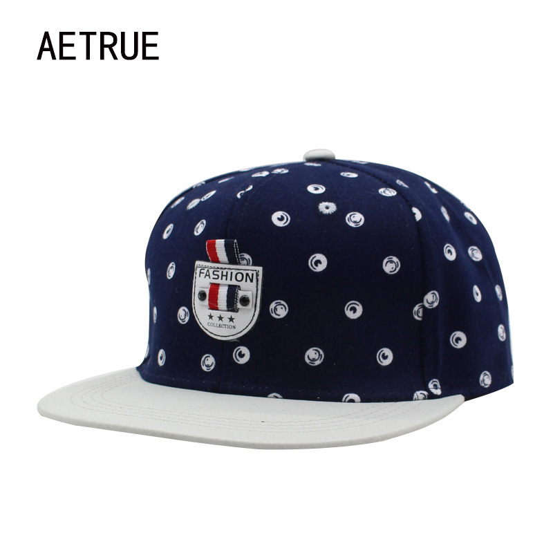 AETRUE Brand Hip Hop Women Snapback Caps Men Baseball Cap Bone Hats For Men Casquette Summer Casual Adjustable Snap Back Caps