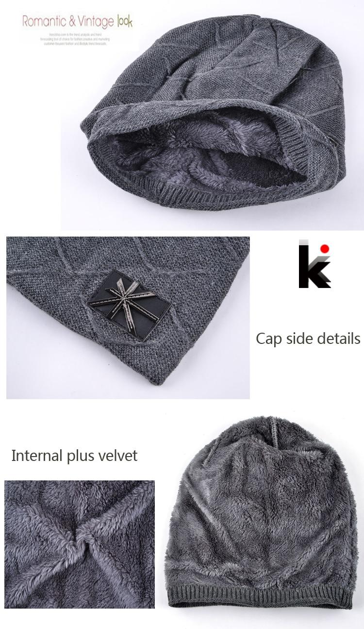 ᗔ2018 otoño y el invierno gorros sombreros para hombre Bandera de ...
