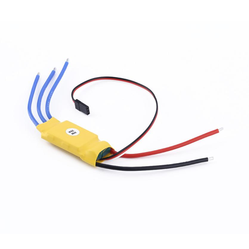 30A Brushless Motor Speed Controller RC BEC ESC T-rex 450 V2 Helicopter Boat  Dropshipping Free Shipping M31 босоножки