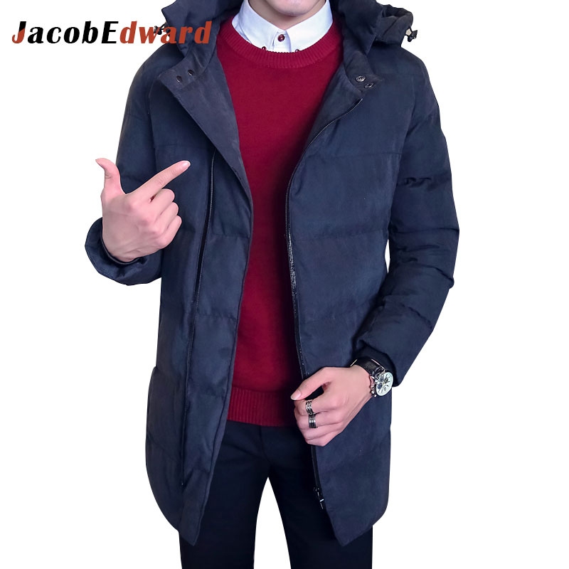 Casual Parka Man Long Thicken Winter Jacket Men Brand Clothing 2016 Winter New Fashion Mens Jackets