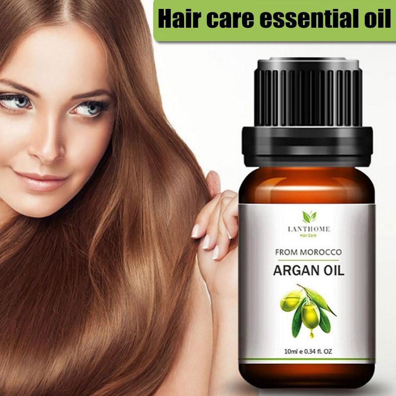 2018 новое масло для ухода за волосами Лечение кожи головы чистое марокканское аргановое масло для сухих поврежденных волос
