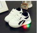 2017NEW Hot European LED lighting hot sales cool boys girls casual shoes new fashion kids shoes noble baby children sneakers