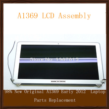 """98% New Original A1369 Early 2012 LCD Screen Display Assembly For Macbook Air 13.3"""" Laptop Parts Replacement"""