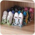Пластиковых для хранения 2 в 1 функция 2 шт./лот современные обуви , чтобы организовать дети , стоящие повесить обуви прихожей стойки