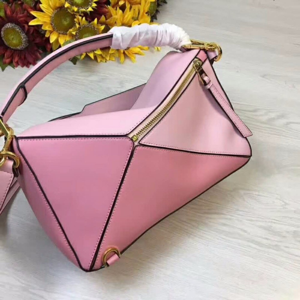 Women Leather Handbags 2018 Brand Luxury Designer Geomatric New Arrival Ladies Shoulder Bag Small Large Size Tote Shopping Purse