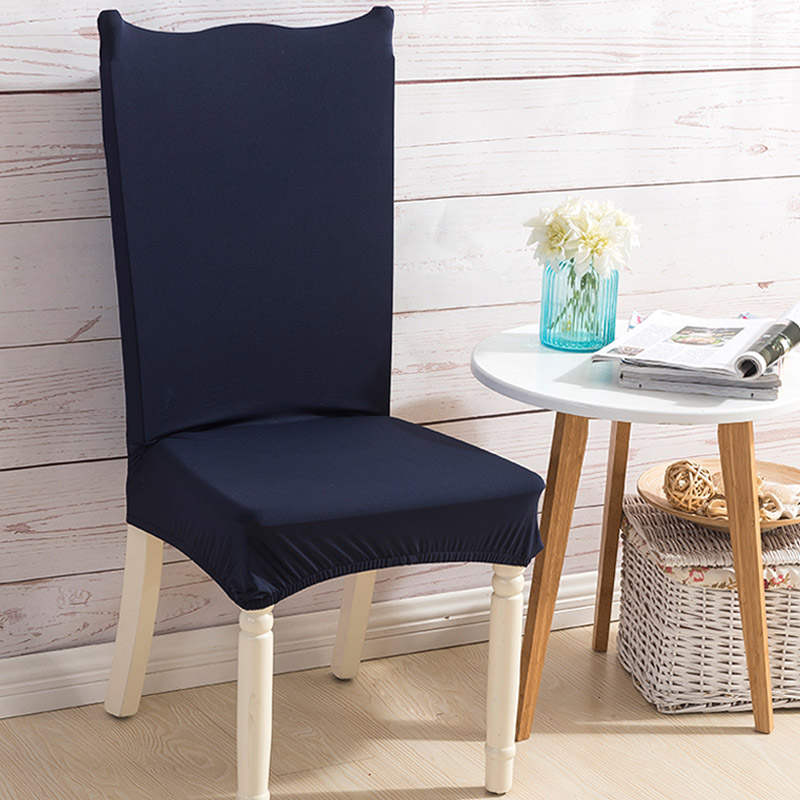 Comwarm Modern Solid Color Elastic Spandex Stretch Dining Room Chair