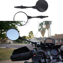 Universal Motorcross Rearview Rear View Mirror Folding Mirrors Motorcycle ATV UTV E-Bike Retro Motorbike 8mm/10mm Accessories