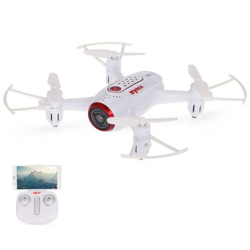 Syma X22W Camera <font><b>Drone</b></font> Selfie <font><b>Mini</b></font> <font><b>Drone</b></font> WiFi <font><b>FPV</b></font> Real-time Transmission RC <font><b>Drone</b></font> Helicopter Quadcopter RTF Dron image