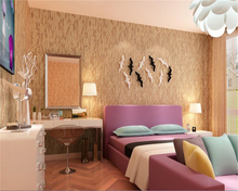 beibehang wallpaper papel de parede hudas beauty Plain simple modern bedroom mottled non-woven color TV background wall