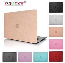все цены на YCJOYZW-New Shine Laptop Case  For MacBook Air 13 Pro Retina 11.6 12 13.3 15.4, for MAC New AIR 13 Pro 13 15 inch with Touch Bar онлайн