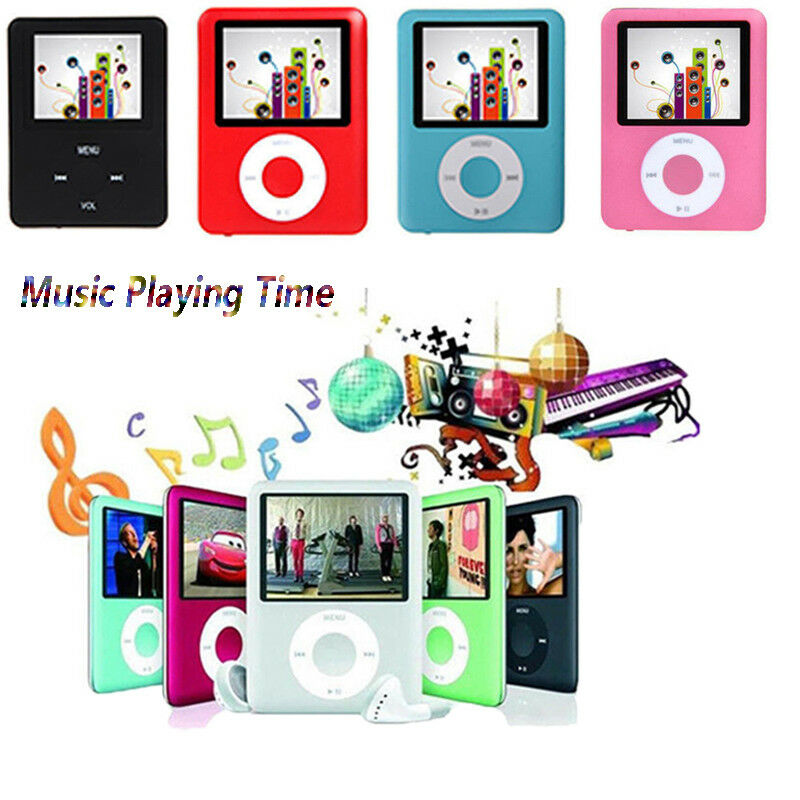 8GB-32GB Digital MP3 MP4 Player 1.8 LCD Screen Video Game Movie Radio FM 3th image