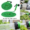 Высококачественные расширяемые гибкие шланги для полива труб  распылитель для автомобильного сада
